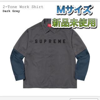 Supreme - supreme 2-Tone Work Shirt Mサイズ 新品未使用