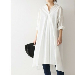 Spick and Span - スピックアンドスパン ロングシャツ ドレス