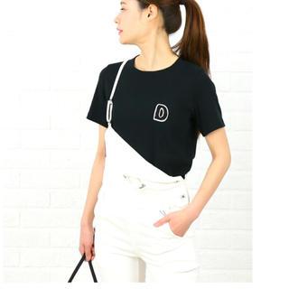 ダブルスタンダードクロージング(DOUBLE STANDARD CLOTHING)のダブルスタンダード ネイビーフライスTシャツ(Tシャツ(半袖/袖なし))