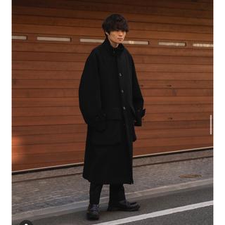 サンシー(SUNSEA)のstein / OVER SLEEVE STAND COLLAR COAT 新品(ステンカラーコート)