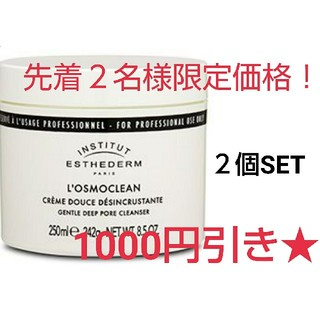 エステダム(Esthederm)のエステダム オスモクリーン 250ml サロンサイズ  2つセット(クレンジング/メイク落とし)