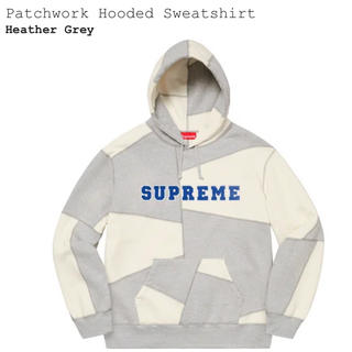 Supreme - Supreme   Patchwork Hooded Sweatshirt