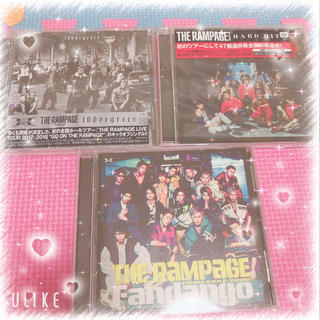 THE RAMPAGE - RAMPAGE CDセット