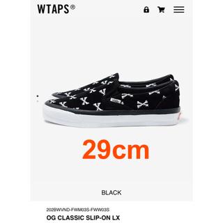 W)taps - 29cm Wtaps vans SLIP-ON スリッポン ブラック
