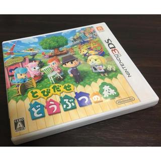ニンテンドー3DS - とびだせ どうぶつの森 ニンテンドー3DS どう森 動物の森 任天堂 DS