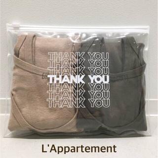 アパルトモンドゥーズィエムクラス(L'Appartement DEUXIEME CLASSE)の新品 アパルトモン GOOD GRIEF タンクトップ (PACK)(タンクトップ)