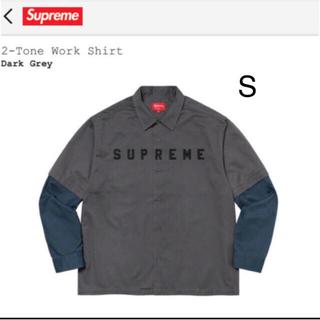 シュプリーム(Supreme)の2-Tone Work Shirt Sサイズ(シャツ)
