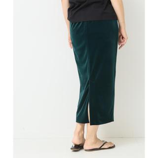 ドゥーズィエムクラス(DEUXIEME CLASSE)のドゥーズィエムクラス ベロアタイトスカート(ロングスカート)