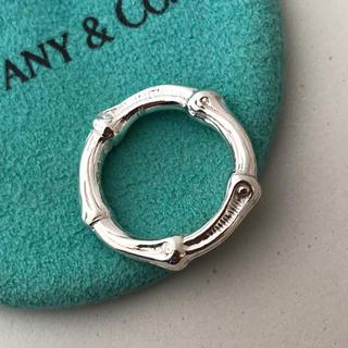 ティファニー(Tiffany & Co.)のTiffany バンブーリング 9号 美品(リング(指輪))