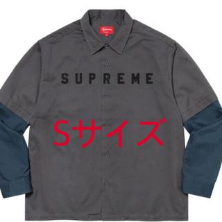 Supreme - 【Sサイズ】Supreme 2-Tone Work Shirt