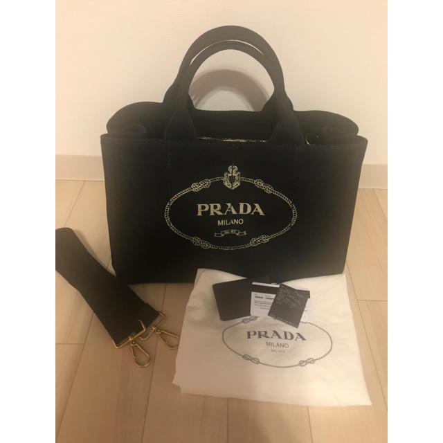 PRADA(プラダ)の値下げ PRADA CANAPA プラダ カナパ レディースのバッグ(トートバッグ)の商品写真
