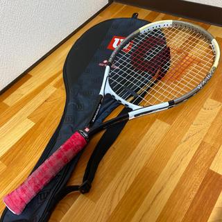 ウィルソン(wilson)のウィルソン テニス ラケット wilson  wx822 ケース付き(ラケット)