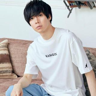 カンゴール(KANGOL)のKANGOL 白Tシャツ(Tシャツ(半袖/袖なし))