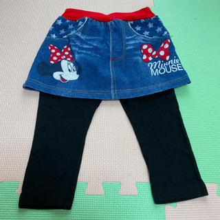 Disney - 女児 ミニー スカッツ   100