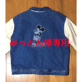 ディズニー(Disney)のデニムジャケット(みっとん様専用です)(Gジャン/デニムジャケット)