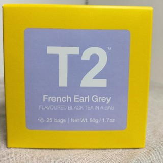 【T2】French Earl Grey フレンチアールグレイ①【ティーバッグ】(茶)