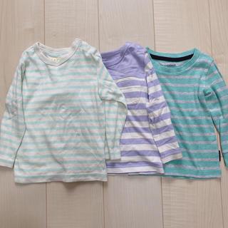 ベルメゾン(ベルメゾン)のボーダーロンT3枚セット(Tシャツ/カットソー)