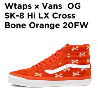 W)taps - WTAPS VANS OG SK8−HI LX ORANGE US10