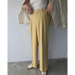 TODAYFUL - TODAYFUL Georgette Rough Trousers
