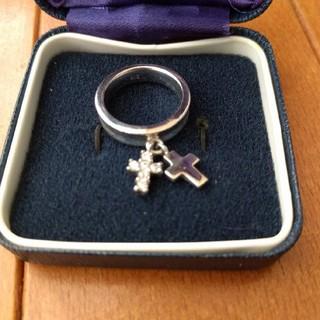 指輪 シルバー925 リング 十字架 クロスリング(リング(指輪))