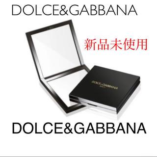 ドルチェアンドガッバーナ(DOLCE&GABBANA)の新品DOLCE&GABBANA非売品拡大鏡付きコンパクトミラーブラック(ミラー)