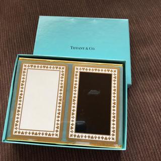 ティファニー(Tiffany & Co.)の【未開封】Tiffany ティファニー トランプ2組セット(トランプ/UNO)