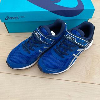 アシックス(asics)のアシックス スニーカー靴 21.5  未使用 子ども(スニーカー)