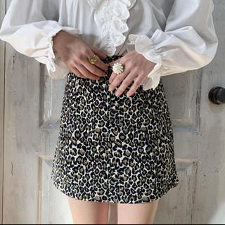Lochie - treat urself レオパードスカート