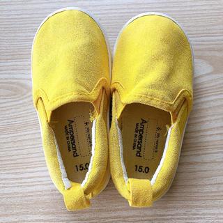 アンパサンド(ampersand)のKIDS 靴 15cm(スニーカー)