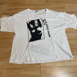 ヒステリックグラマー(HYSTERIC GLAMOUR)のヒステリック デザインTシャツ(Tシャツ(半袖/袖なし))