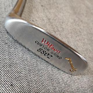 ウィルソン(wilson)のパター ウィルソン 8802 CUSTOM GRIND Special 美品(クラブ)