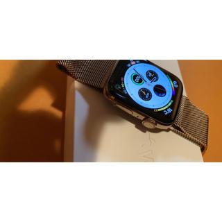 Apple Watch - アップルウォッチ Apple Watch 4 ゴールドステンレス44m セルラー