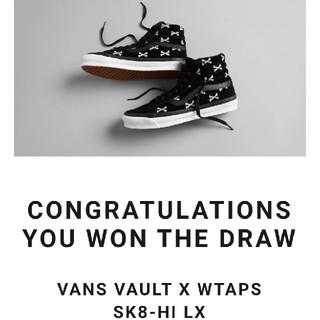 W)taps - wtaps vans VAULT sk8 -hi 27cm