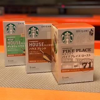 Starbucks Coffee - スターバックス origami x 3箱