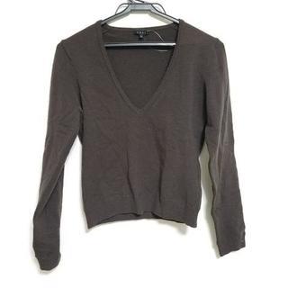 セオリー(theory)のセオリー 長袖セーター サイズ2 S Vネック(ニット/セーター)