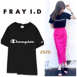フレイアイディー(FRAY I.D)のFRAY i.D☆ChampionコラボTシャツ フレイアイディー (Tシャツ(半袖/袖なし))