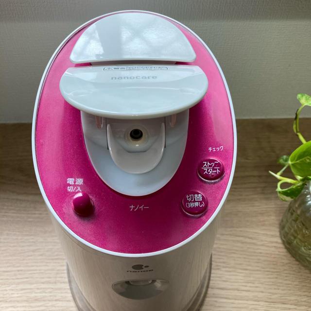 Panasonic(パナソニック)のPanasonic EH-SA60-P 美顔スチーマー スマホ/家電/カメラの美容/健康(フェイスケア/美顔器)の商品写真