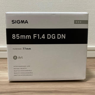 SIGMA - 新品 シグマ SIGMA 85mm F1.4 DG DN (Art) SE