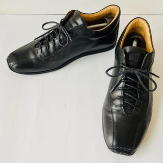 Giorgio Armani - 【美品】ジョルジョ アルマーニ 革靴 黒 25cm 除菌・消臭済み