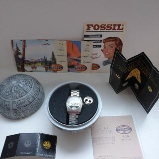 フォッシル(FOSSIL)の スターウォーズ デススター限定腕時計FOSSIL(腕時計(アナログ))