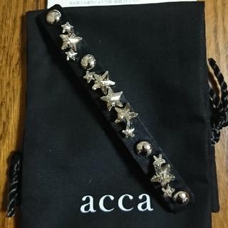 acca - 秋物sale🖤新品・未使用🖤accaバレッタNEBULA