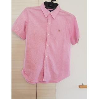 ラルフローレン(Ralph Lauren)のラルフローレンスポーツ ピンクシャツ(シャツ/ブラウス(半袖/袖なし))