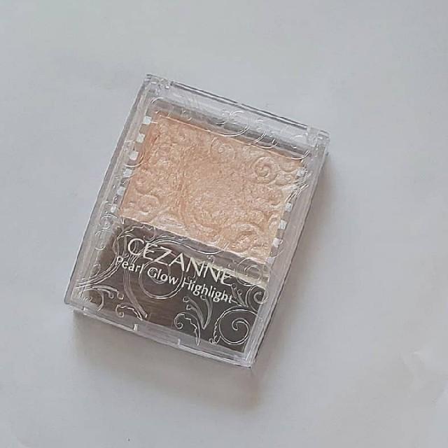 CEZANNE(セザンヌ化粧品)(セザンヌケショウヒン)のセザンヌ パールグロウハイライト01 シャンパンベージュ コスメ/美容のベースメイク/化粧品(フェイスカラー)の商品写真