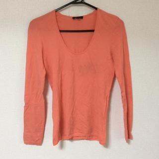 セオリー(theory)のセオリー 長袖セーター サイズ2 S オレンジ(ニット/セーター)