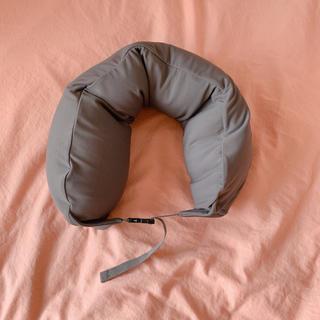 ムジルシリョウヒン(MUJI (無印良品))の無印 ネッククッション グレー (旅行用品)