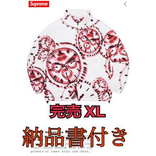 シュプリーム(Supreme)のsupreme シュプリーム ウォッチパフィージャケット ホワイトXL(ダウンジャケット)