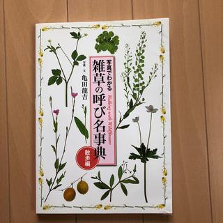 えみたぬ様専用 写真でわかる雑草の呼び名事典(趣味/スポーツ/実用)