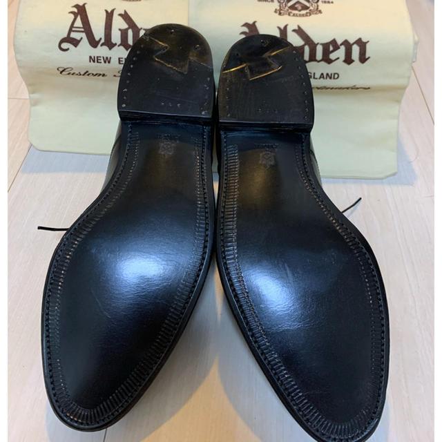 Alden(オールデン)のAlden ストレートチップ カーフレザー 黒 メンズの靴/シューズ(ドレス/ビジネス)の商品写真