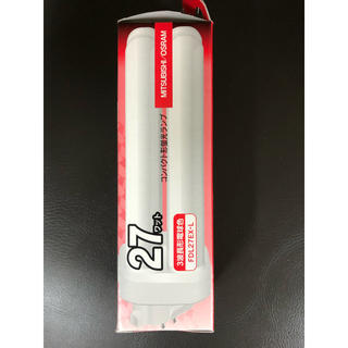 ミツビシ(三菱)の三菱コンパクト形蛍光ランプ FDL27EX-L 2個セット価格(蛍光灯/電球)