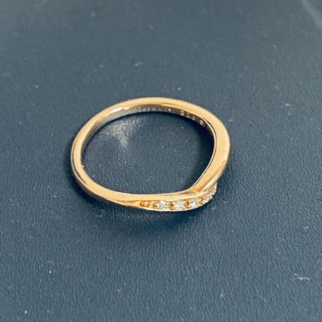 4℃(ヨンドシー)の4°C  K10 リング レディースのアクセサリー(リング(指輪))の商品写真